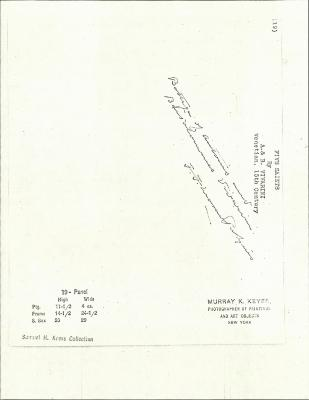 Image for K0019 - Expert opinion by Perkins, circa 1920s-1940s