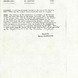 Image for K0198 - Alan Burroughs report, circa 1930s-1940s