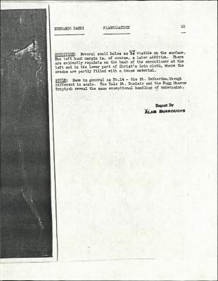 Image for K0197 - Alan Burroughs report, circa 1930s-1940s