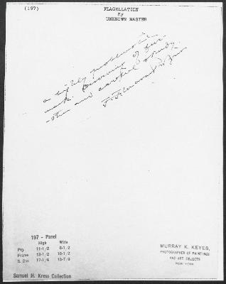 Image for K0197 - Expert opinion by Perkins, circa 1920s-1940s