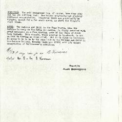 Image for K0200 - Alan Burroughs report, circa 1930s-1940s