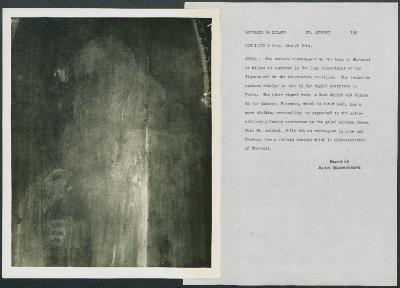 Image for K0199 - Alan Burroughs report, circa 1930s-1940s