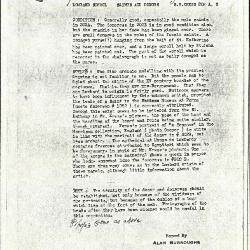 Image for K0202A - Alan Burroughs report, circa 1930s-1940s