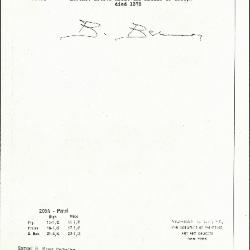 Image for K0205A - Expert opinion by Berenson, circa 1920s-1950s