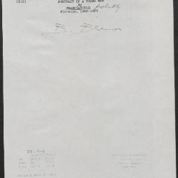 Image for K0212 - Expert opinion by Berenson, circa 1920s-1950s