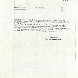 Image for K0209 - Alan Burroughs report, circa 1930s-1940s