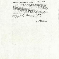Image for K0212 - Alan Burroughs report, circa 1930s-1940s