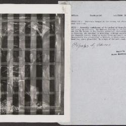 Image for K0216 - Alan Burroughs report, circa 1930s-1940s