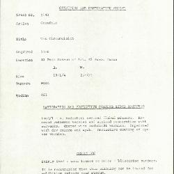 Image for K2143 - Condition and restoration record, circa 1950s-1960s