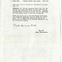 Image for K0226 - Alan Burroughs report, circa 1930s-1940s