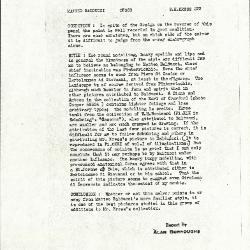Image for K0222 - Alan Burroughs report, circa 1930s-1940s