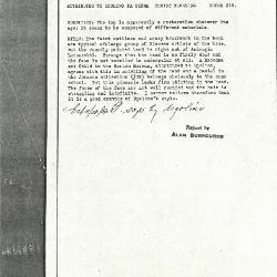 Image for K0219 - Alan Burroughs report, circa 1930s-1940s