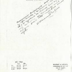 Image for K0219 - Expert opinion by Perkins, circa 1920s-1940s
