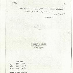 Image for K0022 - Expert opinion by Longhi, 1931