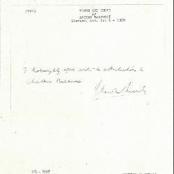 Image for K0222 - Expert opinion by Marle, circa 1920s-1930s