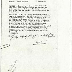 Image for K0224 - Alan Burroughs report, circa 1930s-1940s