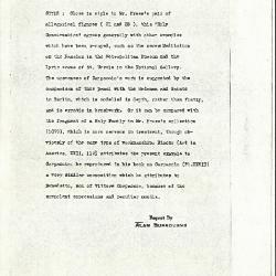 Image for K0245 - Alan Burroughs report, circa 1930s-1940s