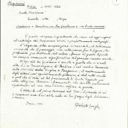 Image for K0245 - Expert opinion by Longhi, 1933