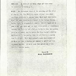 Image for K0233 - Alan Burroughs report, circa 1930s-1940s