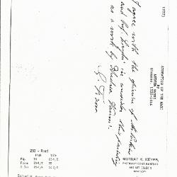 Image for K0233 - Expert opinion by Fiocco, circa 1930s-1940s