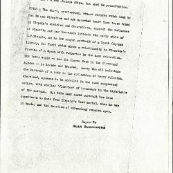 Image for K0232 - Alan Burroughs report, circa 1930s-1940s