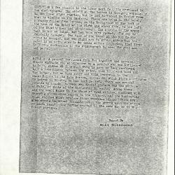 Image for K0234 - Alan Burroughs report, circa 1930s-1940s