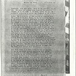 Image for K0253 - Alan Burroughs report, circa 1930s-1940s