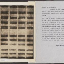 Image for K0251 - Alan Burroughs report, circa 1930s-1940s