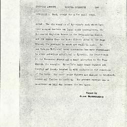 Image for K0256 - Alan Burroughs report, circa 1930s-1940s