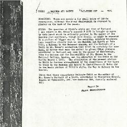 Image for K0257 - Alan Burroughs report, circa 1930s-1940s