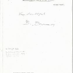 Image for K0265 - Expert opinion by Berenson, circa 1920s-1950s