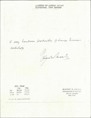 Image for K0260 - Expert opinion by Marle, circa 1920s-1930s