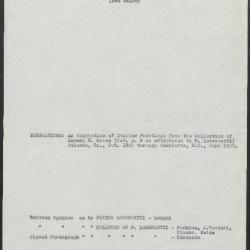 Image for K0027 - Art object record, circa 1930s-1950s