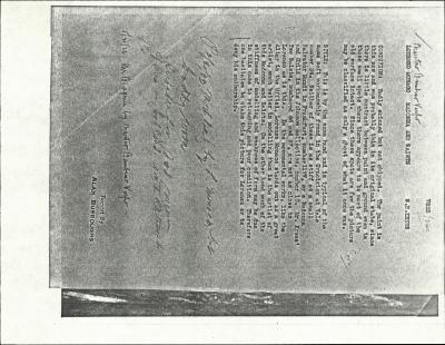 Image for K0260 - Alan Burroughs report, circa 1930s-1940s