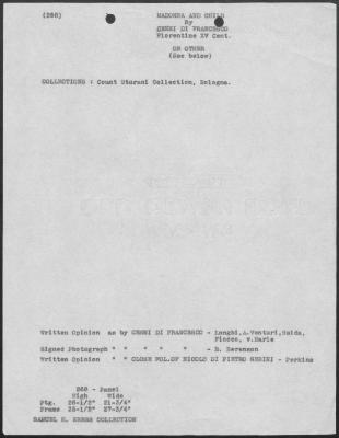 Image for K0268 - Art object record, circa 1930s-1950s