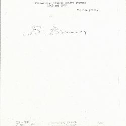 Image for K0263 - Expert opinion by Berenson, circa 1920s-1950s