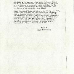 Image for K0290 - Alan Burroughs report, circa 1930s-1940s