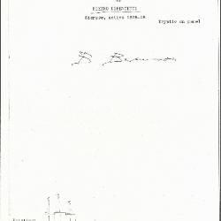 Image for K0277 - Expert opinion by Berenson, circa 1920s-1950s