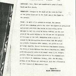 Image for K0275 - Alan Burroughs report, circa 1930s-1940s