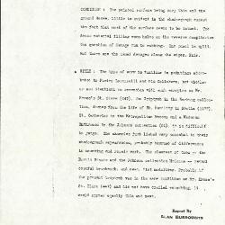 Image for K0277 - Alan Burroughs report, circa 1930s-1940s