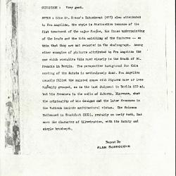 Image for K0289 - Alan Burroughs report, circa 1930s-1940s