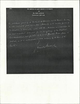 Image for K0289 - Expert opinion by Marle, circa 1920s-1930s