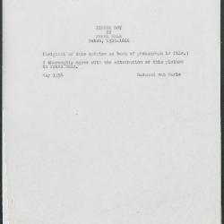 Image for K0274 - Expert opinion by Marle, 1934
