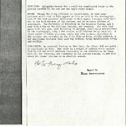 Image for K0274 - Alan Burroughs report, circa 1930s-1940s