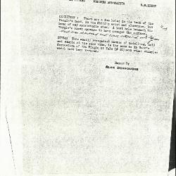 Image for K0286 - Alan Burroughs report, circa 1930s-1940s