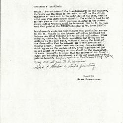 Image for K0293 - Alan Burroughs report, circa 1930s-1940s