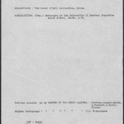 Image for K0292 - Art object record, circa 1930s-1950s