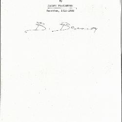 Image for K0304 - Expert opinion by Berenson, circa 1920s-1950s