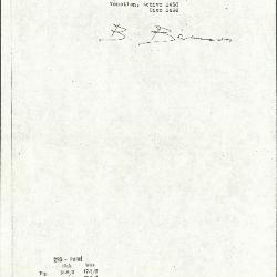 Image for K0293 - Expert opinion by Berenson, circa 1920s-1950s