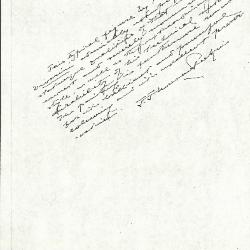 Image for K0293 - Expert opinion by Perkins, circa 1920s-1940s